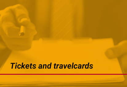 Tickets and travelcards