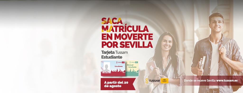 Saca matrícula en moverte por Sevilla