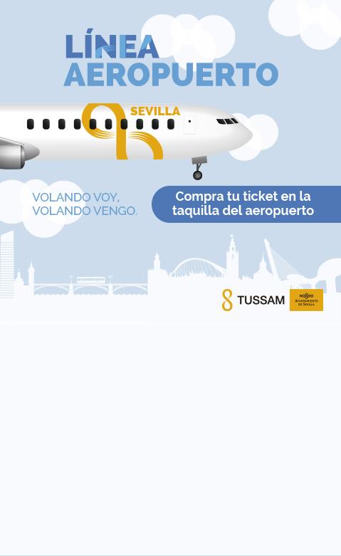 Compra tu ticket de la línea aeropuerto en la nueva taquilla del aeropuerto
